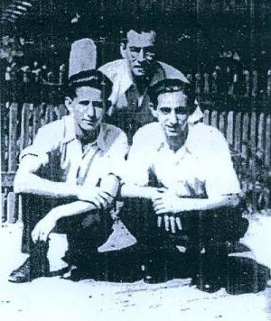 Braća Boroš: Jozef (ubijen u Jasenovcu), Zoltan (desno) i Ignac (lijevo)
