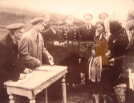 Neposredno pre deportacije iz Skoplja u logor Treblinka